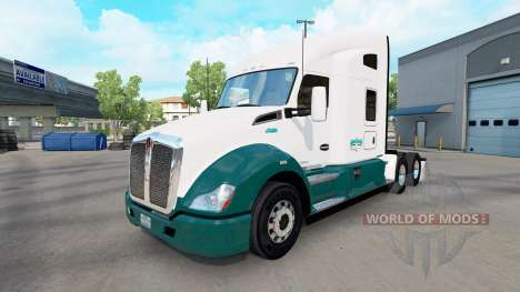 Mascaro Trucking Haut für die Kenworth-Zugmaschi für American Truck Simulator