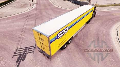 Penske-skin für den Anhänger für American Truck Simulator