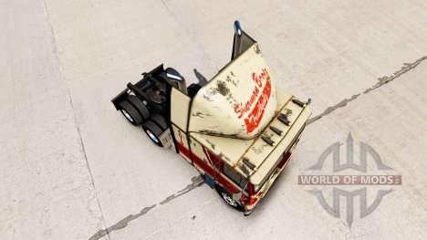 La peau sur Sherman Bros camion Freightliner FLA pour American Truck Simulator