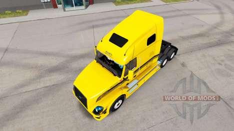 Robert-Transport skin für den Volvo truck VNL 67 für American Truck Simulator