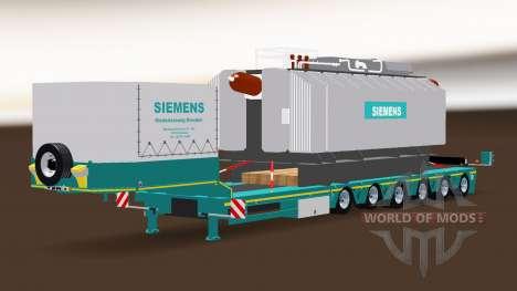 Siemens Transformateur Trailer pour American Truck Simulator