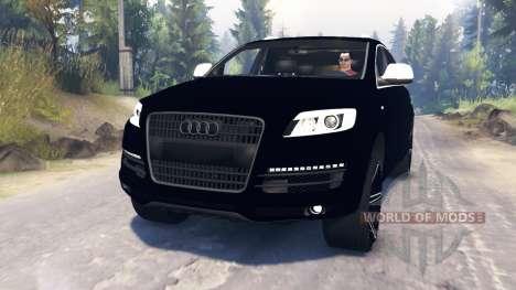 Audi Q7 v2.0 pour Spin Tires