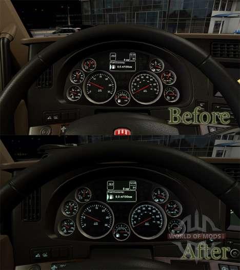 Instrument de la couleur d'éclairage de l'eau de pour American Truck Simulator