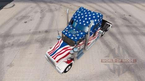 Haut-USA truck Kenworth W900 für American Truck Simulator