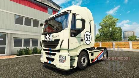 Herbie-skin für Iveco-Zugmaschine für Euro Truck Simulator 2