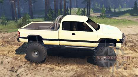Dodge Ram Ext. Cab 1996 für Spin Tires