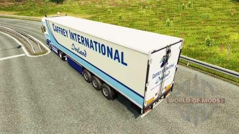 Caffrey Internationale de la peau pour Scania ca pour Euro Truck Simulator 2