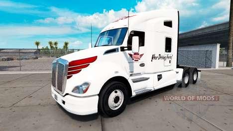 Haut auf die Keystone-Western Traktor Kenworth für American Truck Simulator