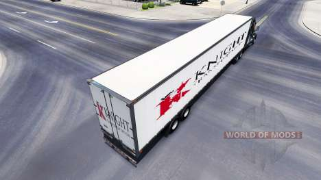 Tous métal-semi-remorque Chevalier pour American Truck Simulator