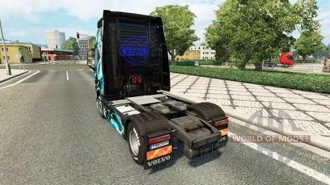 Peau de Dragon pour camion Volvo pour Euro Truck Simulator 2