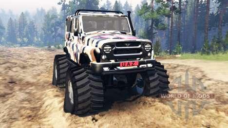 UAZ-315195 hunter v2.0 für Spin Tires