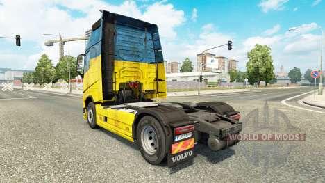 L'Ukraine de la peau pour Volvo camion pour Euro Truck Simulator 2