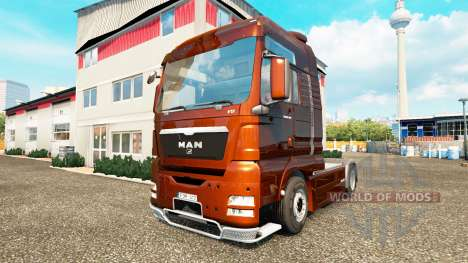 MAN TGX v1.01 pour Euro Truck Simulator 2