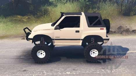Suzuki Sidekick pour Spin Tires