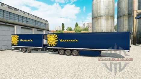 Semi-Trailers Krone Gigaliner [Waberers] für Euro Truck Simulator 2