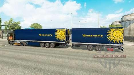 Semi-Remorque Krone Méga-Camions [Waberers] pour Euro Truck Simulator 2