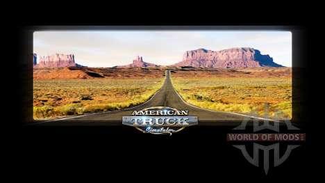 Les écrans de chargement du Nevada pour American Truck Simulator