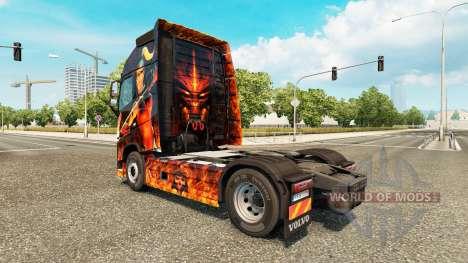 Diablo II-skin für den Volvo truck für Euro Truck Simulator 2