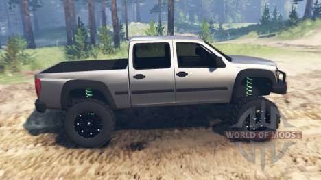 Chevrolet Colorado v2.0 pour Spin Tires