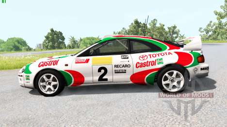 Toyota Celica GT-Four (ST205) 1995 WRC für BeamNG Drive