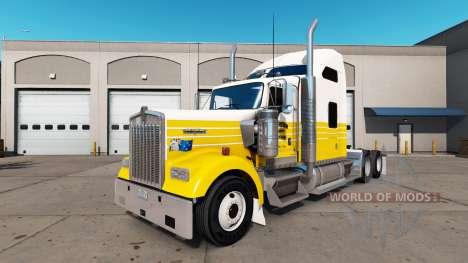 Haut, die Träger auf dem LKW-Kenworth W900 für American Truck Simulator