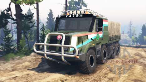 Tatra 163 Jamal 8x8 [update] pour Spin Tires