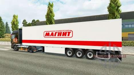 Remorque Aimant pour Euro Truck Simulator 2