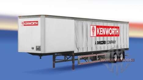 Vorhang Auflieger Kenworth für American Truck Simulator