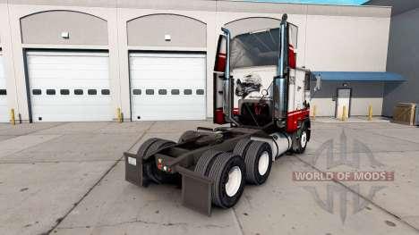 La peau Silver Eagle camion Freightliner FLAG pour American Truck Simulator