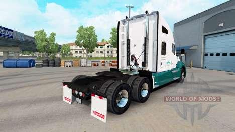 Mascaro de Camionnage de la peau pour tracteur K pour American Truck Simulator