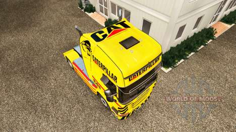 KATZE Haut für LKW Scania für Euro Truck Simulator 2