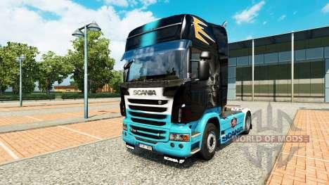 La peau Scania R pour Scania camion pour Euro Truck Simulator 2