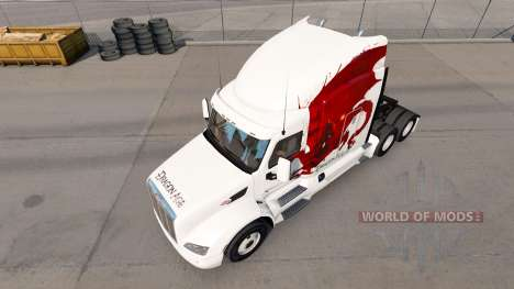 Dragon Âge de la peau pour le camion Peterbilt pour American Truck Simulator