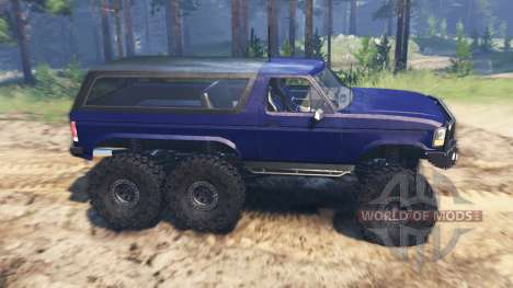 Ford Bronco 6x6 pour Spin Tires