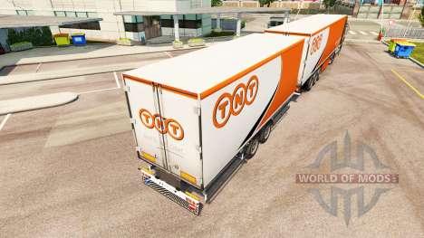 Auflieger Krone Gigaliner [TNT] für Euro Truck Simulator 2