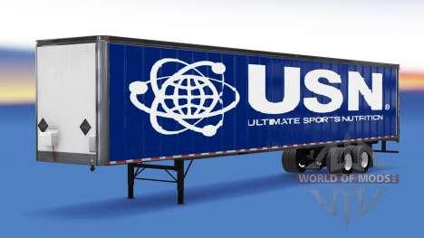 De tous les métaux semi-USN pour American Truck Simulator