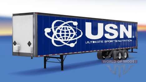 All-Metall-semi-USN für American Truck Simulator