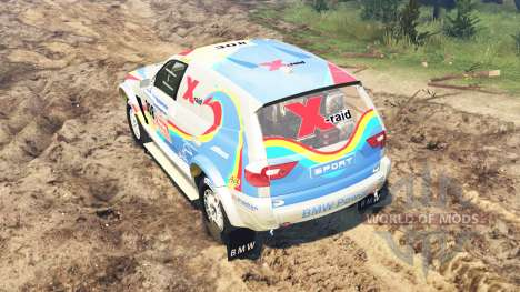 BMW X3 Rally pour Spin Tires