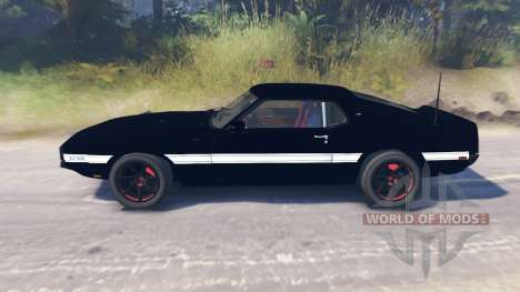 Ford Mustang Shelby GT500 1969 für Spin Tires
