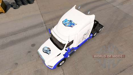 Haut-Skizzen Autos auf der Zugmaschine Peterbilt für American Truck Simulator