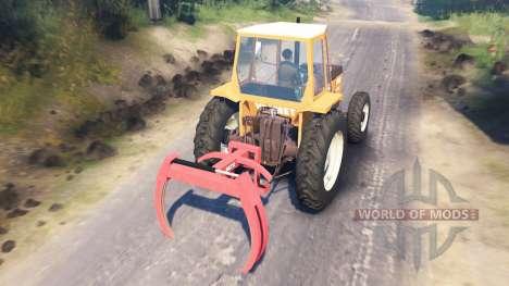 Valmet 602 für Spin Tires