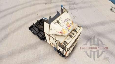 La peau Absolue Badass sur le camion Freightline pour American Truck Simulator