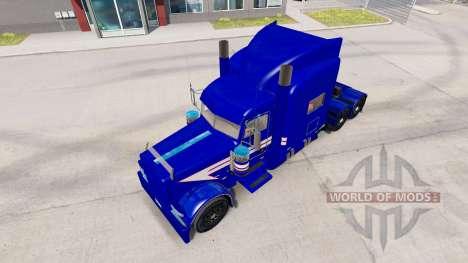 Jarco Transport skin für den truck-Peterbilt 389 für American Truck Simulator