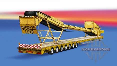Low sweep mit unterschiedlichen Lasten. für American Truck Simulator
