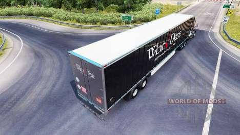 La peau Winn Dixie sur la remorque pour American Truck Simulator