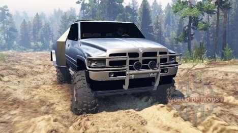 Dodge Ram für Spin Tires