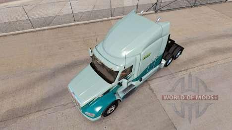 La peau sur le Long terme camion Peterbilt pour American Truck Simulator