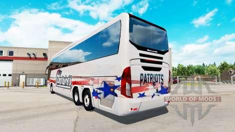 Haut Patrioten bus Mascarello Roma 370 für American Truck Simulator
