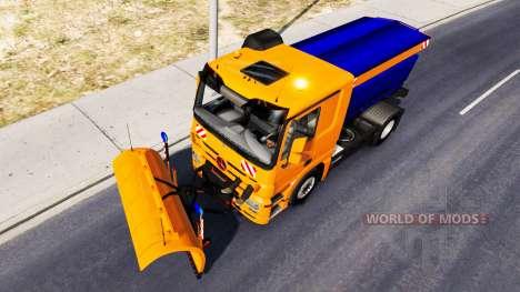 Schnee-Mercedes-Benz Actros für American Truck Simulator