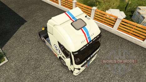 Herbie peau pour Iveco tracteur pour Euro Truck Simulator 2